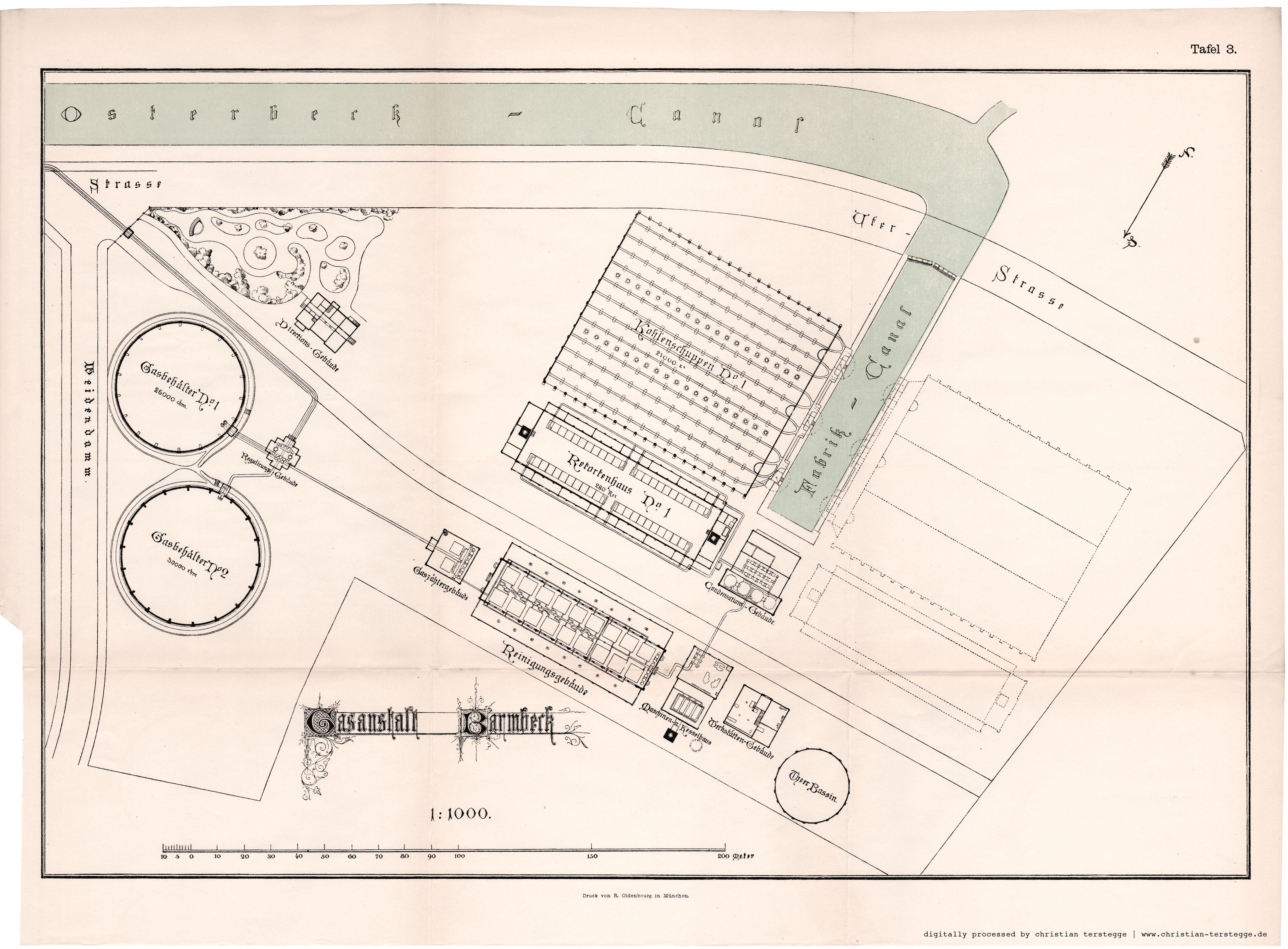 alte und historische karten aus hamburg zu speziellen themen. Black Bedroom Furniture Sets. Home Design Ideas