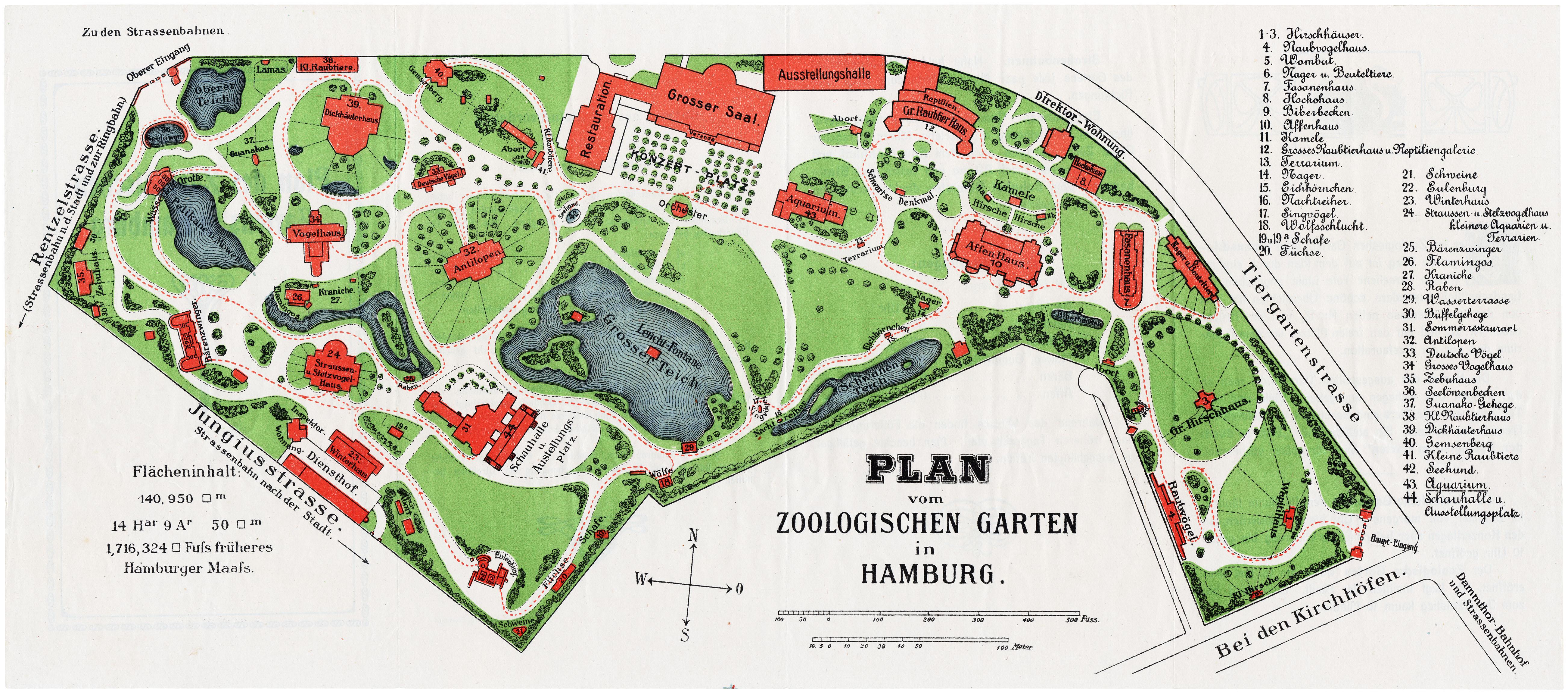 Merveilleux ... Zoologischer Garten Hamburg Hamburg 1923