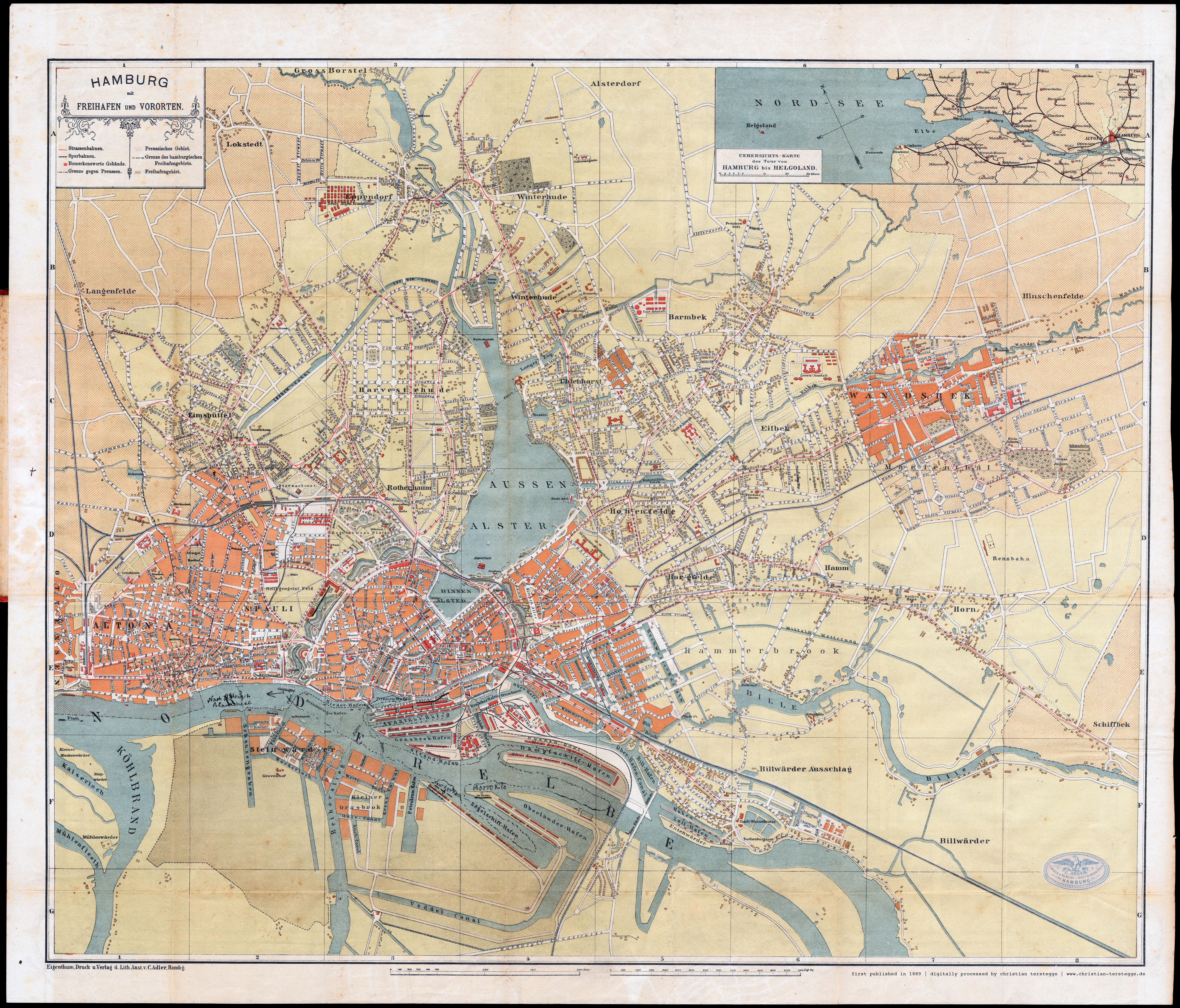 Alte Karte Deutschland 1940.Alte Und Historische Karten Und Stadtpläne Aus Hamburg